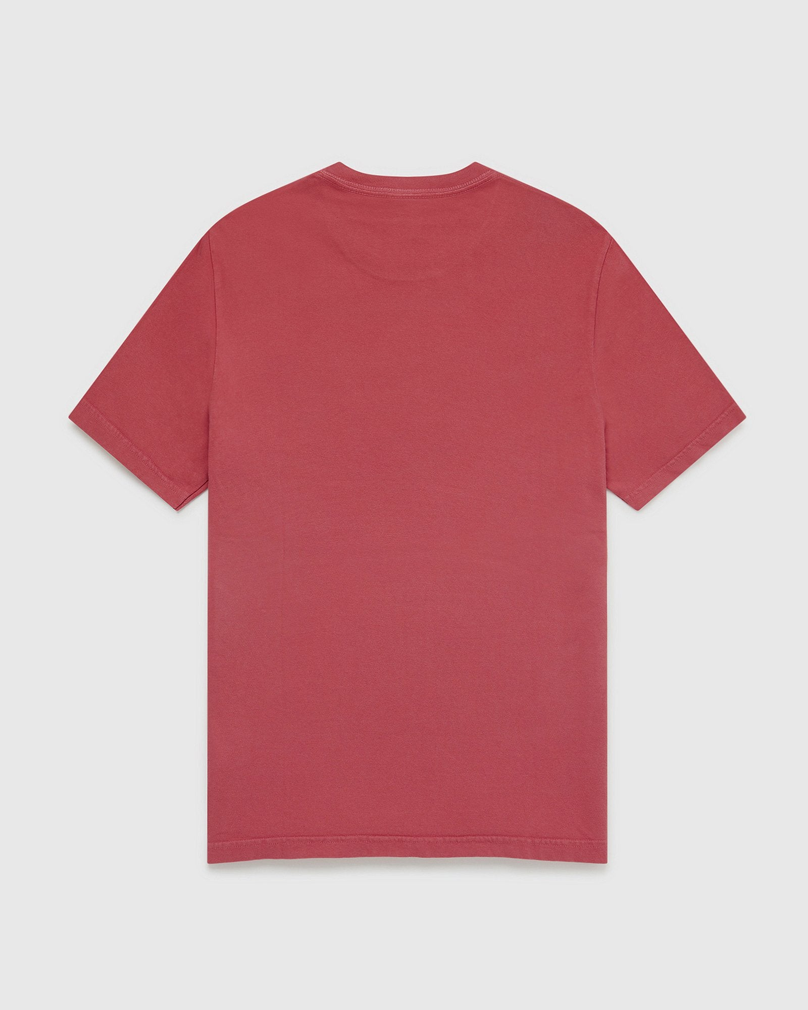 OVO GARMENT DYE T-SHIRT - RED IMAGE #2
