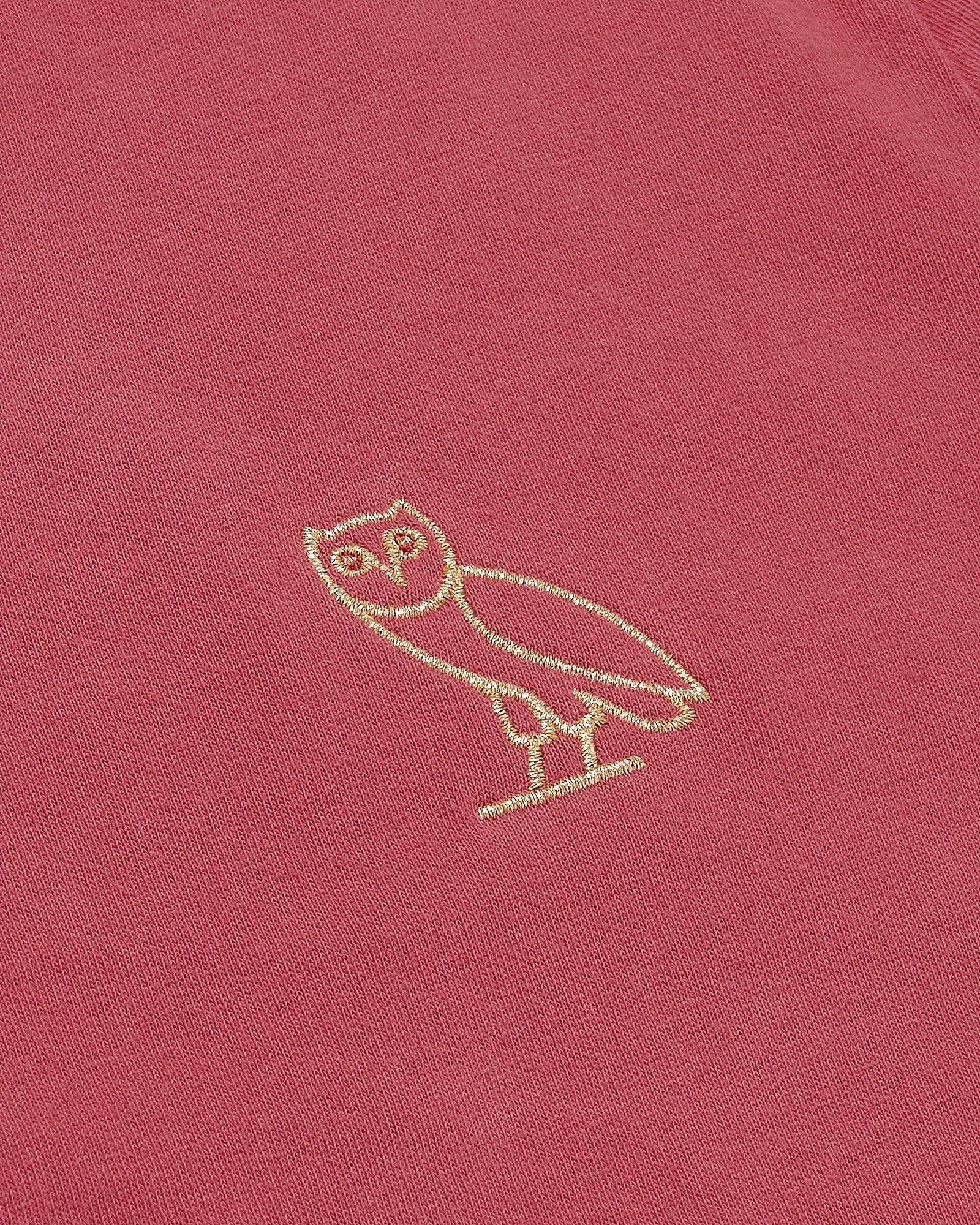 OVO GARMENT DYE T-SHIRT - RED IMAGE #3