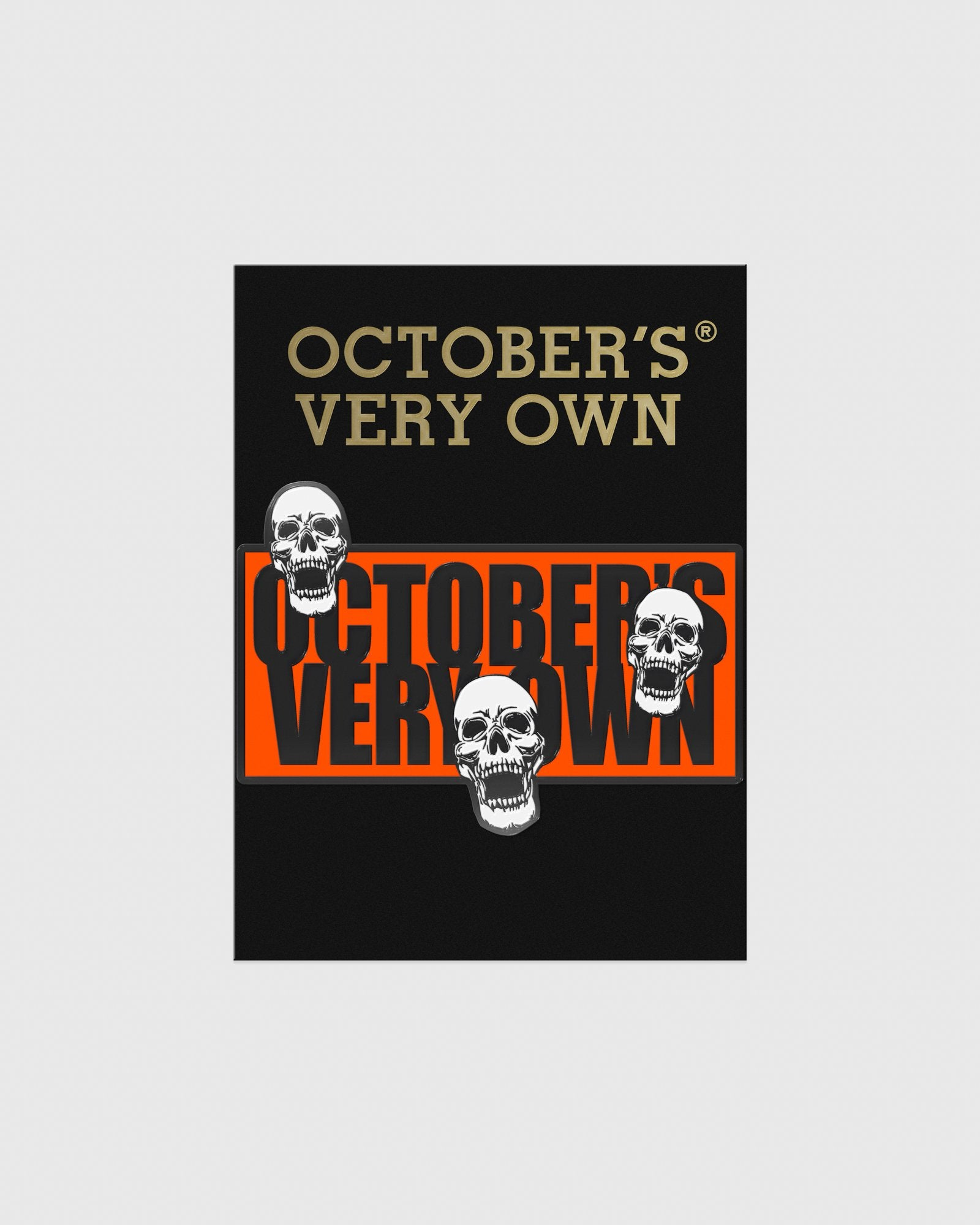 HALLOWEEN GANG PIN - ORANGE IMAGE #2