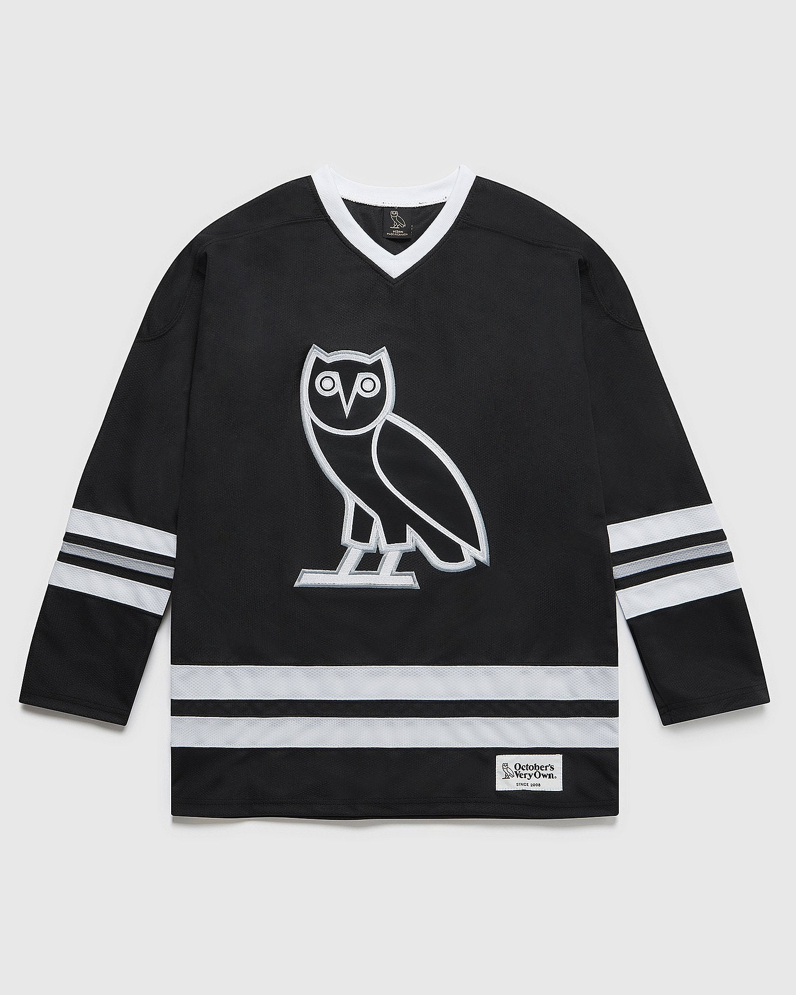 OVO HOCKEY JERSEY - BLACK IMAGE #1