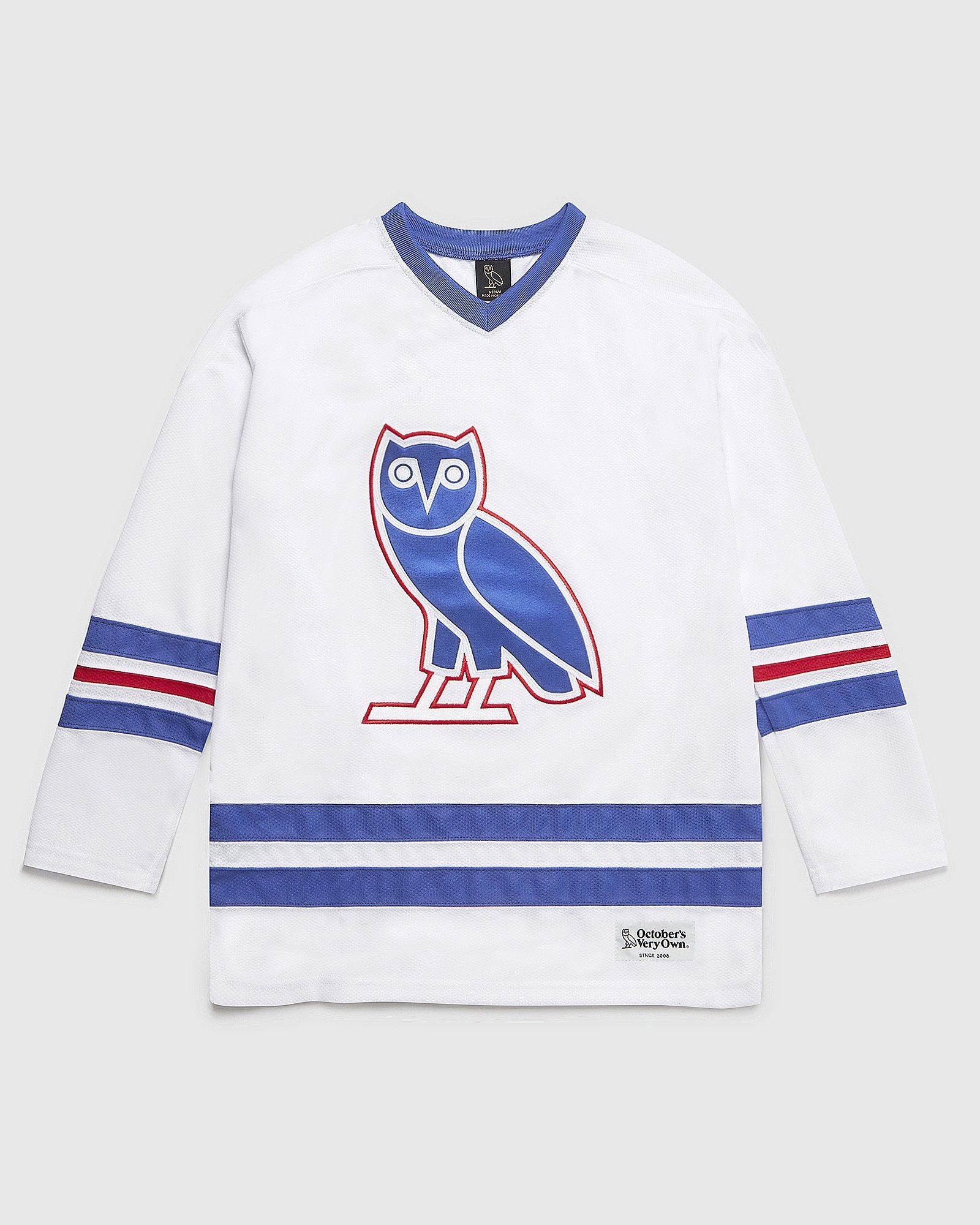 OVO HOCKEY JERSEY - WHITE IMAGE #1