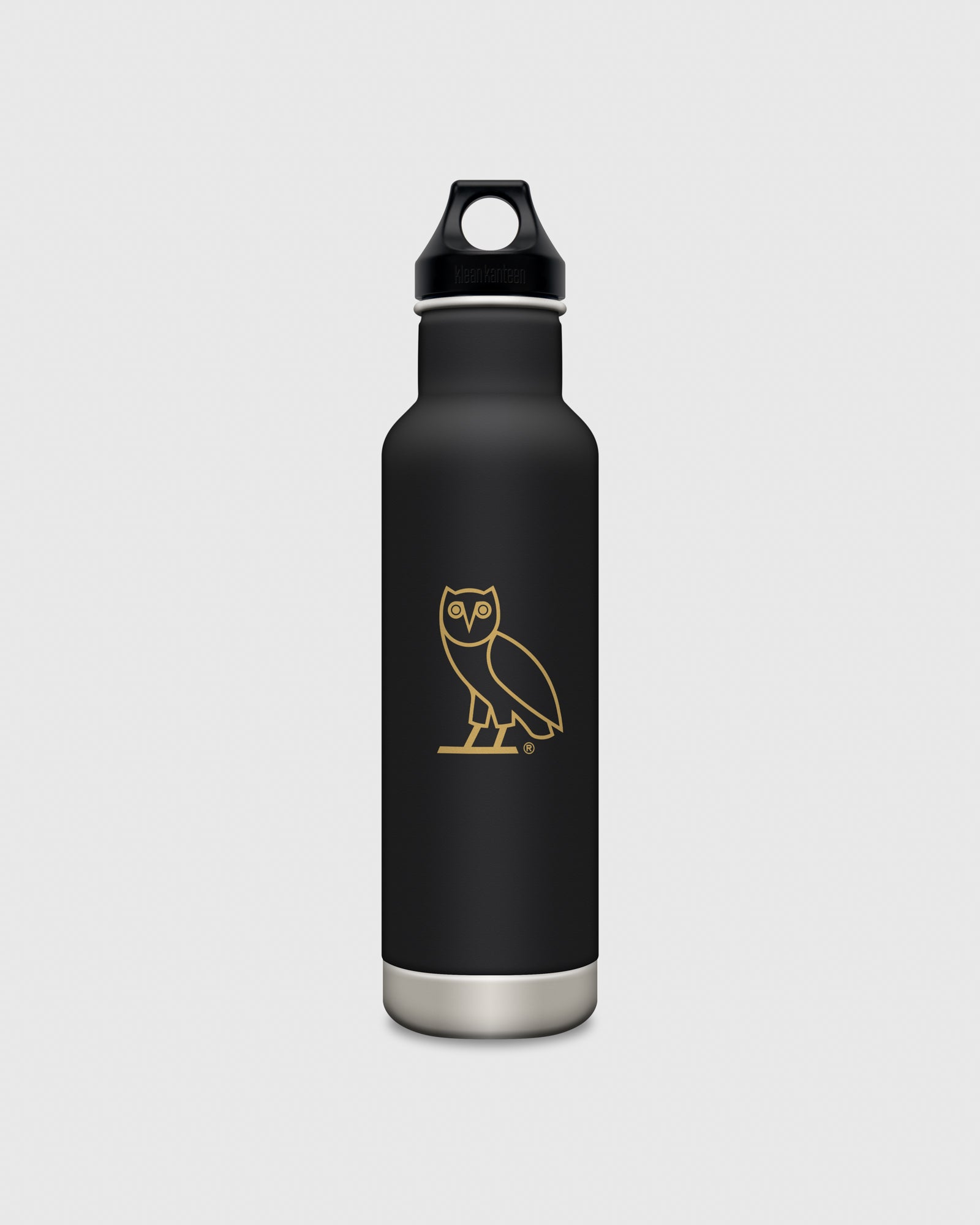 OVO x KLEAN KANTEEN OWL WATER BOTTLE - BLACK IMAGE #1