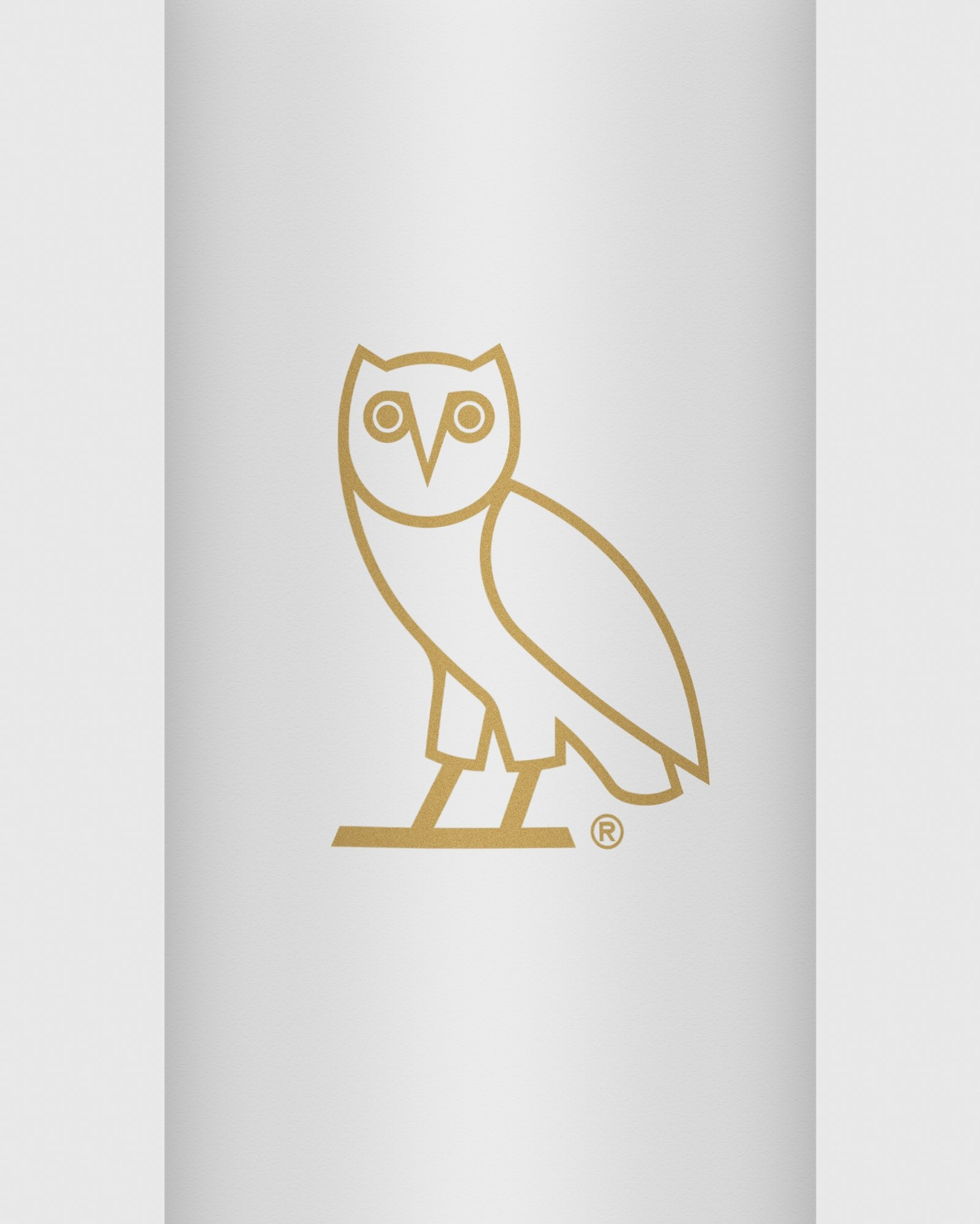 OVO x KLEAN KANTEEN OWL WATER BOTTLE - WHITE IMAGE #2