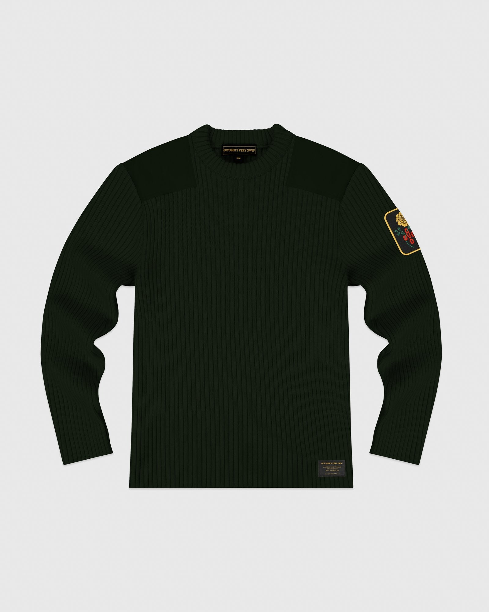 MARIGOLD MILITARY SWEATER - PINE IMAGE #1