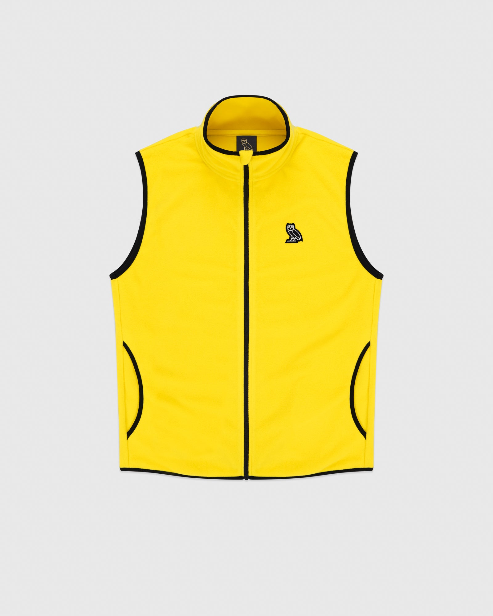 MICROFLEECE VEST - YELLOW IMAGE #1