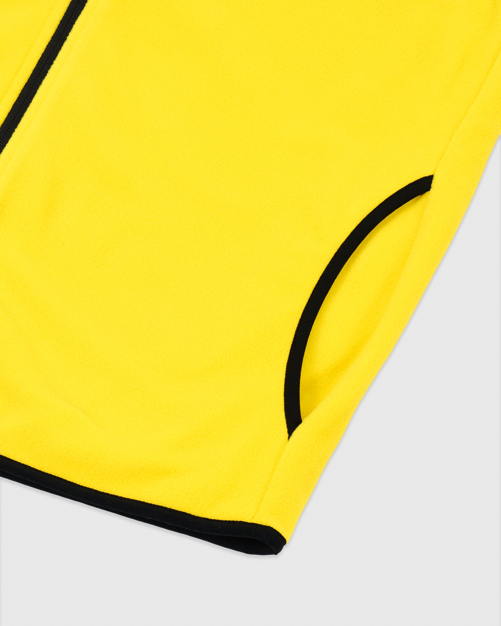 MICROFLEECE VEST - YELLOW IMAGE #5