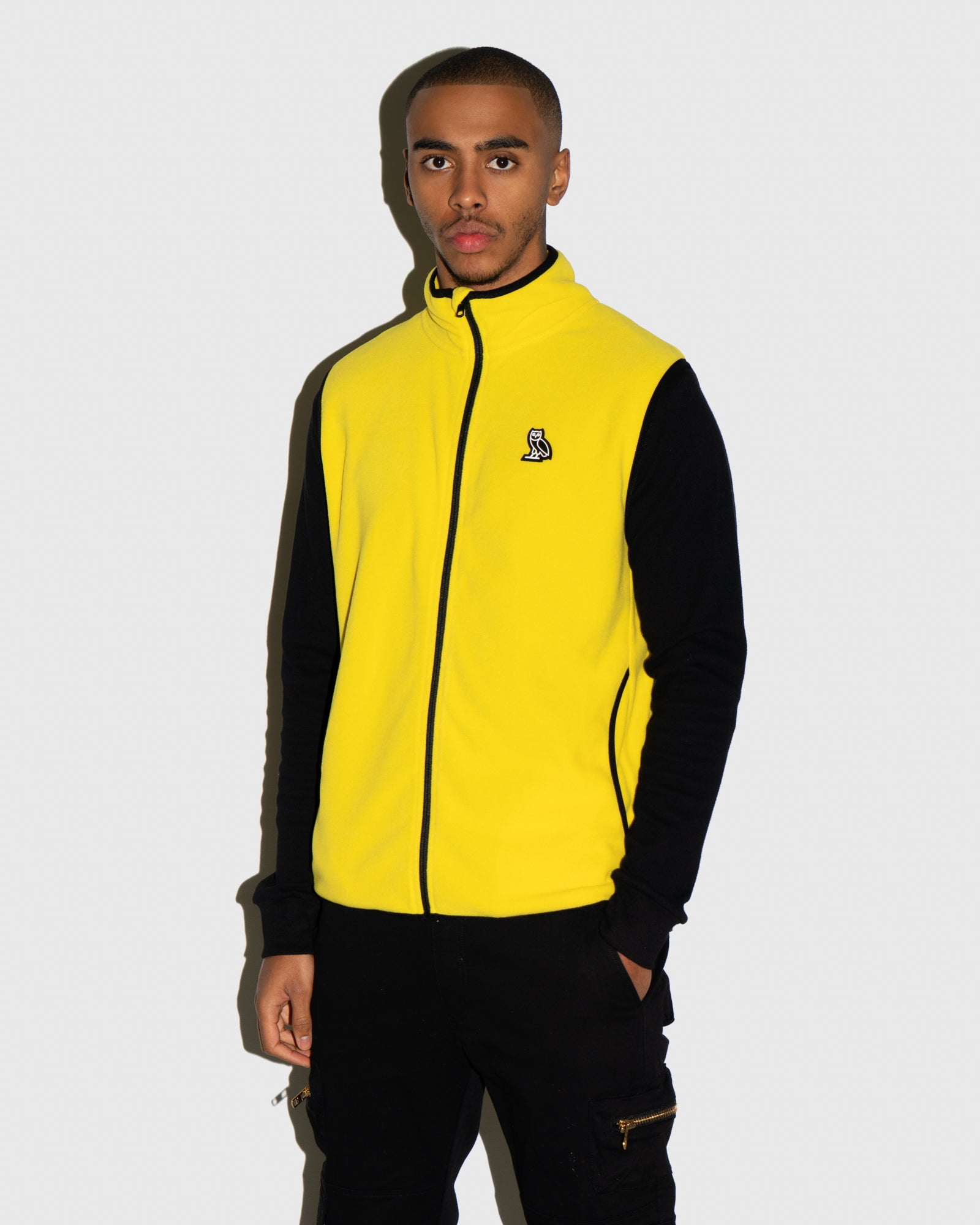 MICROFLEECE VEST - YELLOW IMAGE #2