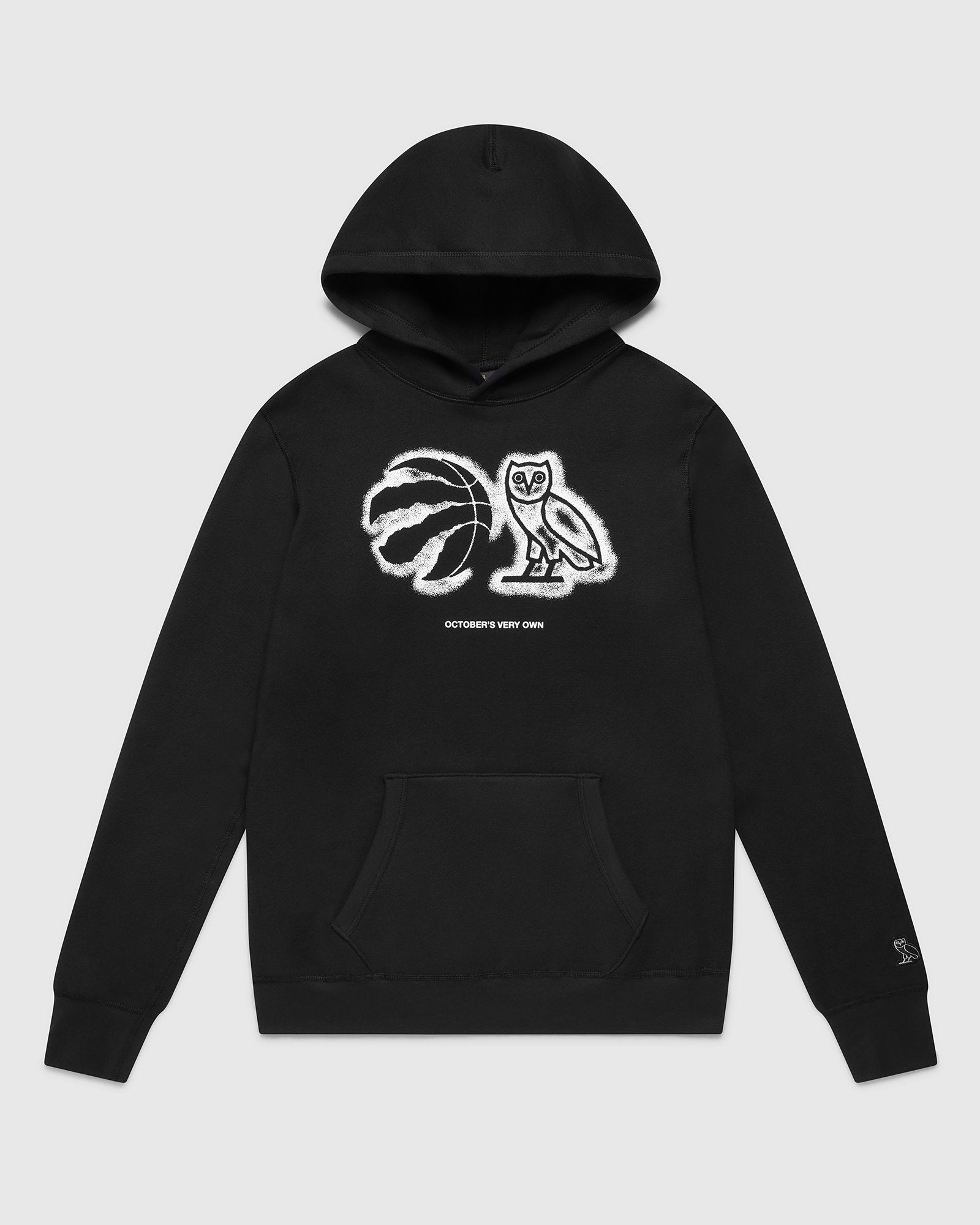 OVO ATHLETIC CENTRE HOODIE - BLACK IMAGE #1