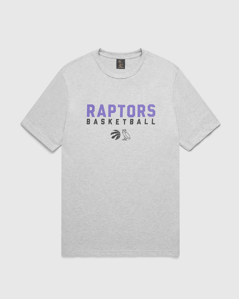 PRE-GAME T-SHIRT - HEATHER GREY