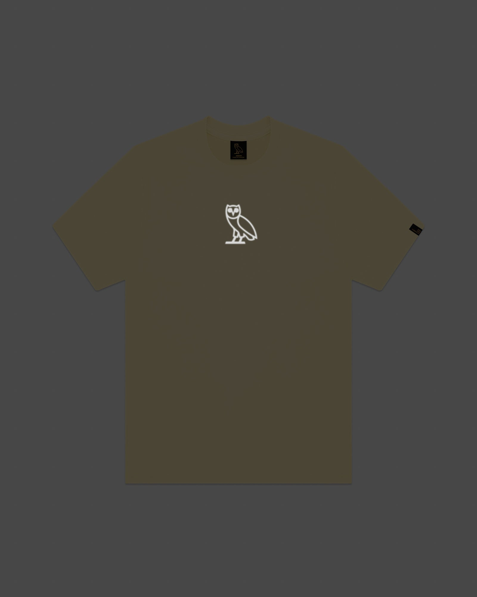 REFLECTIVE CLASSIC OWL T-SHIRT - CREAM IMAGE #5