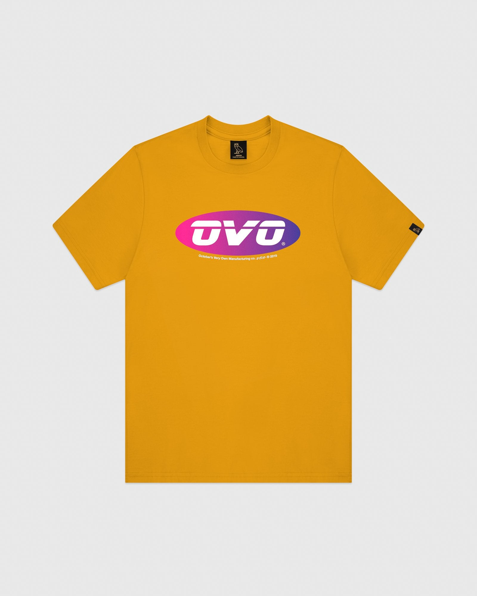 SUNSET RUNNER T-SHIRT - AUTUMN YELLOW IMAGE #1