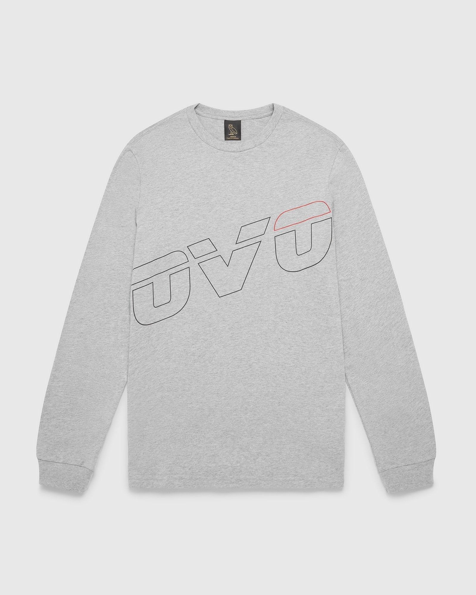 RUNNER REFLECTOR LONGSLEEVE T-SHIRT - HEATHER GREY IMAGE #1
