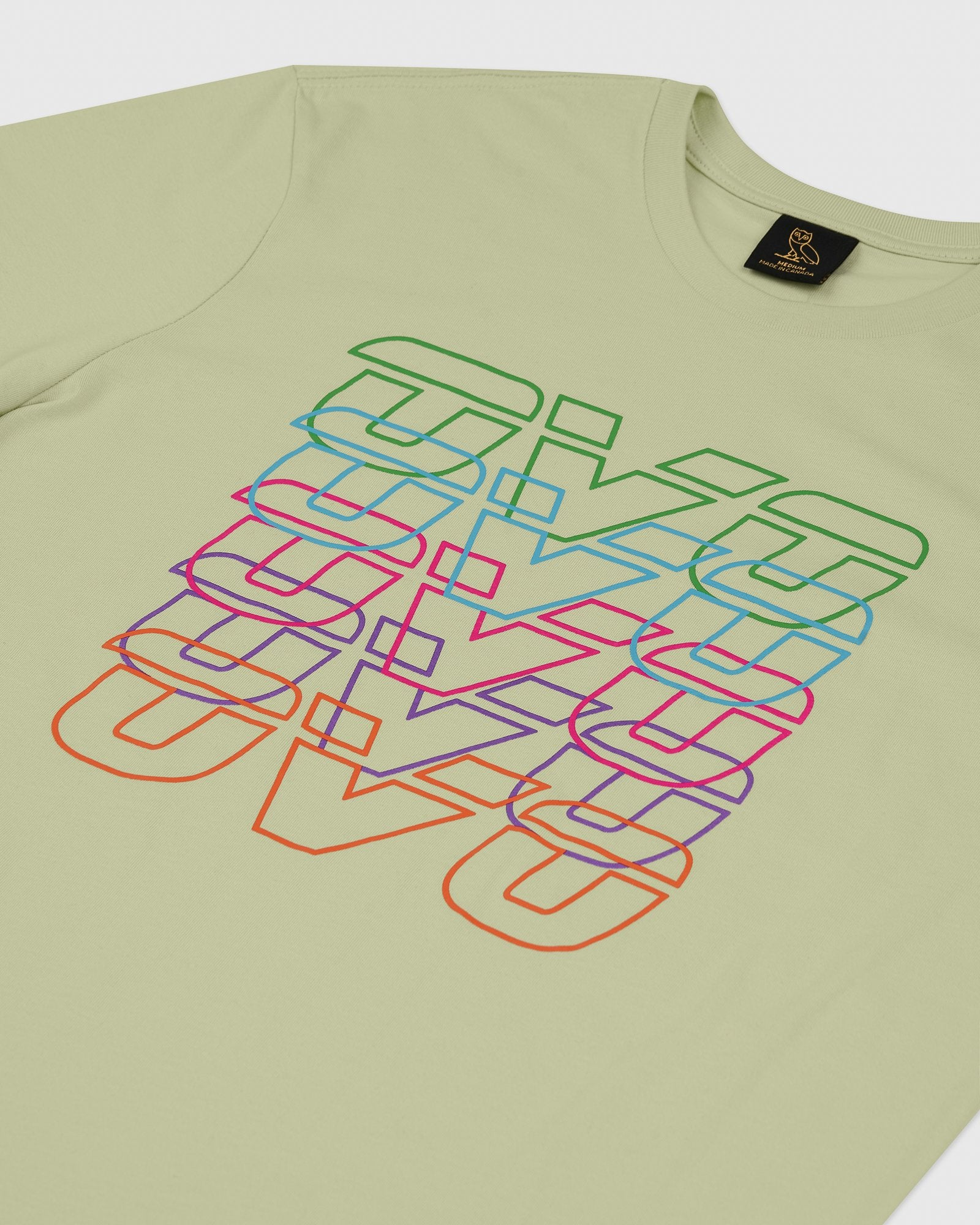 RUNNER REPEAT T-SHIRT - PISTACHIO IMAGE #2