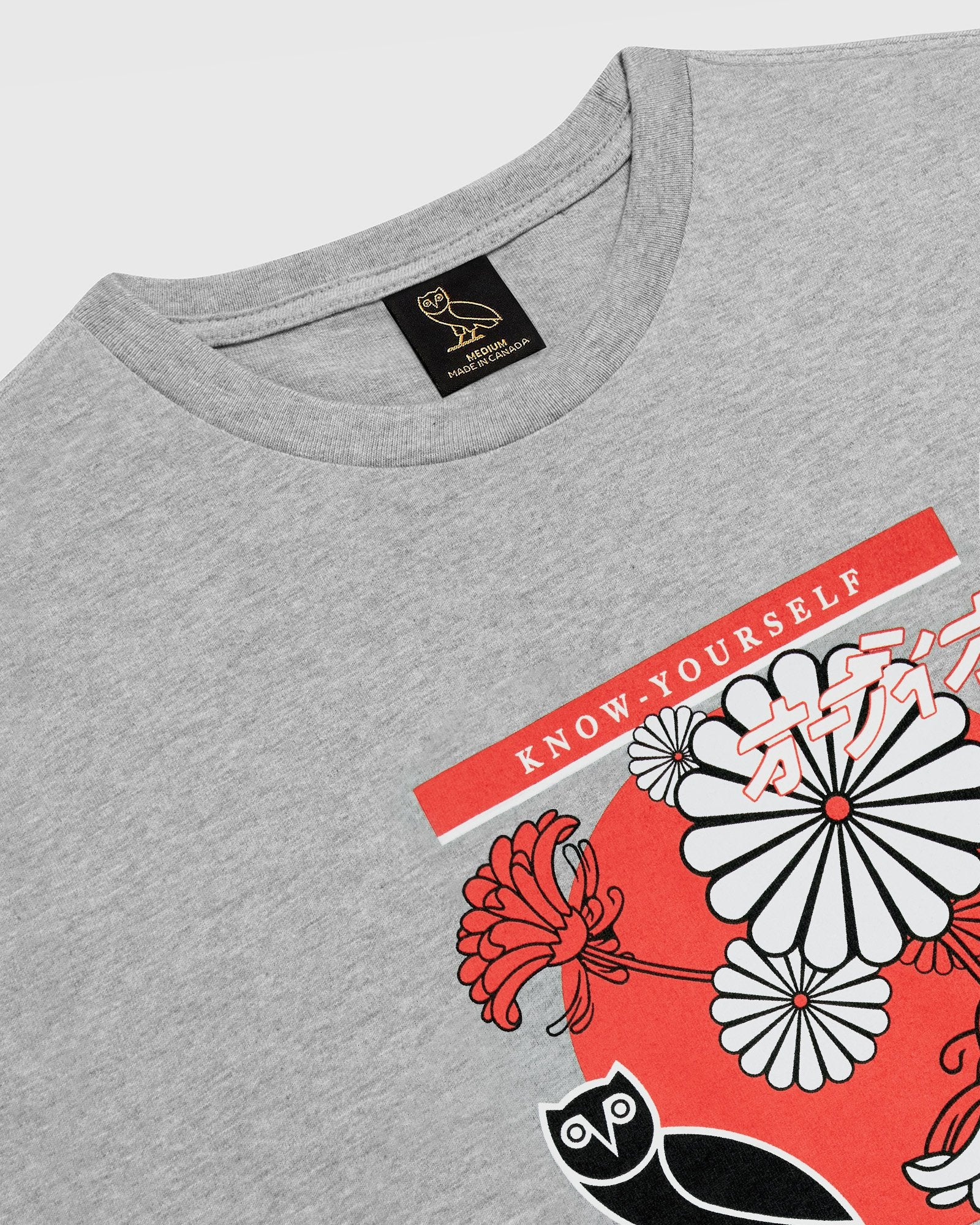 BLOOM T-SHIRT - HEATHER GREY IMAGE #3