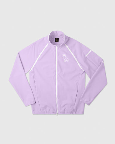 SPORT UTILITY TRACK JACKET - PALE PURPLE