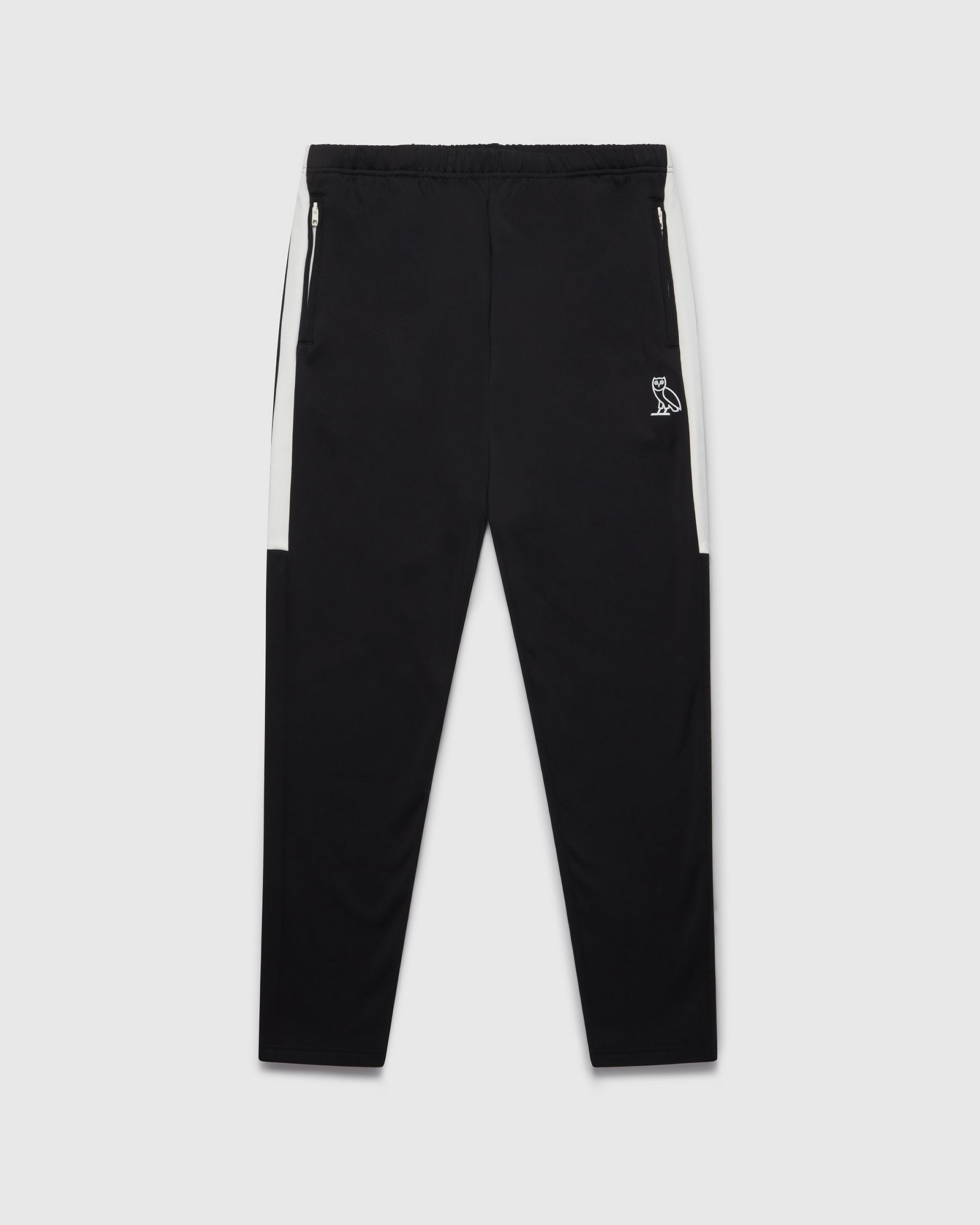 OVO HEAVYWEIGHT INSULATED TRACK PANT - BLACK IMAGE #1