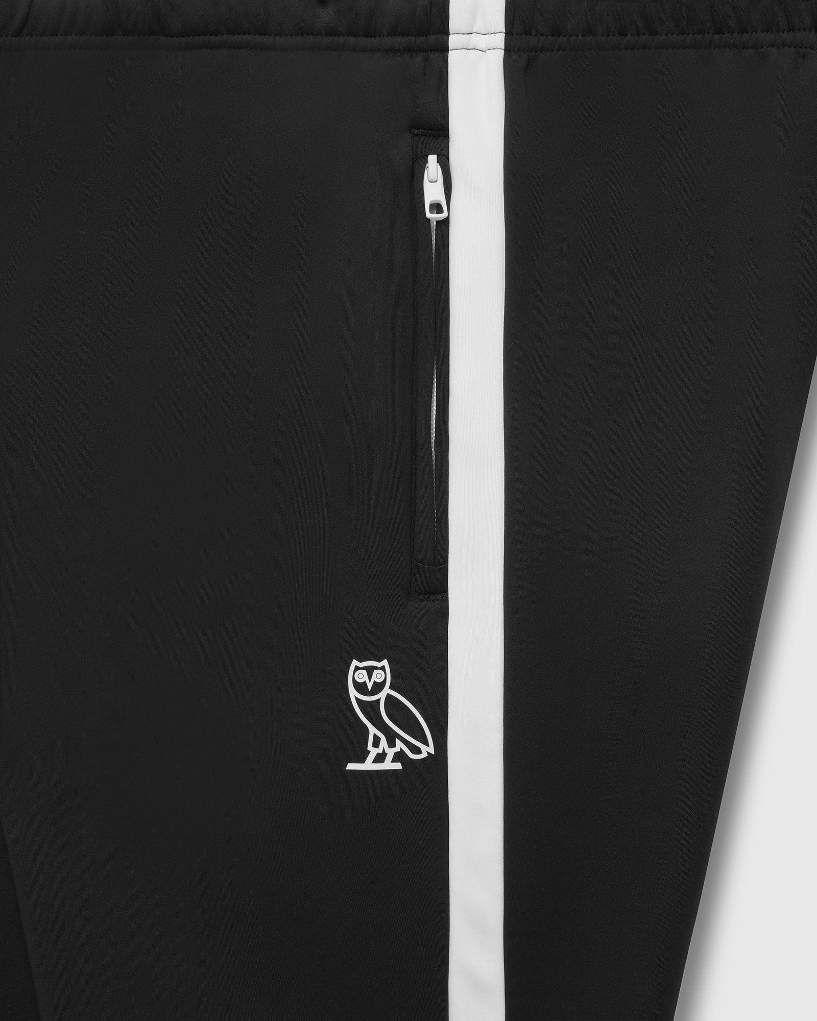 OVO HEAVYWEIGHT INSULATED TRACK PANT - BLACK IMAGE #3