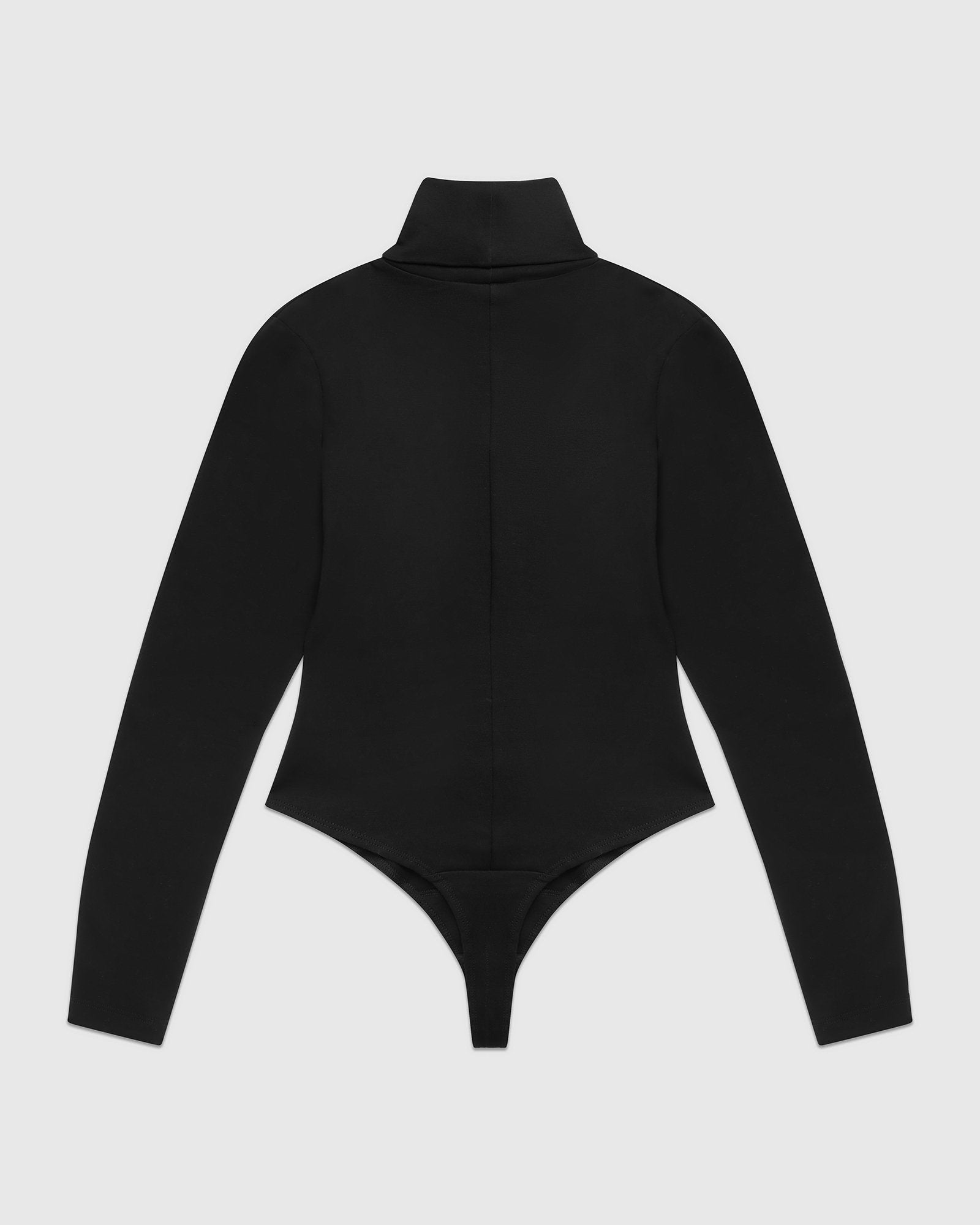 WMNS TURTLENECK BODYSUIT - BLACK IMAGE #2