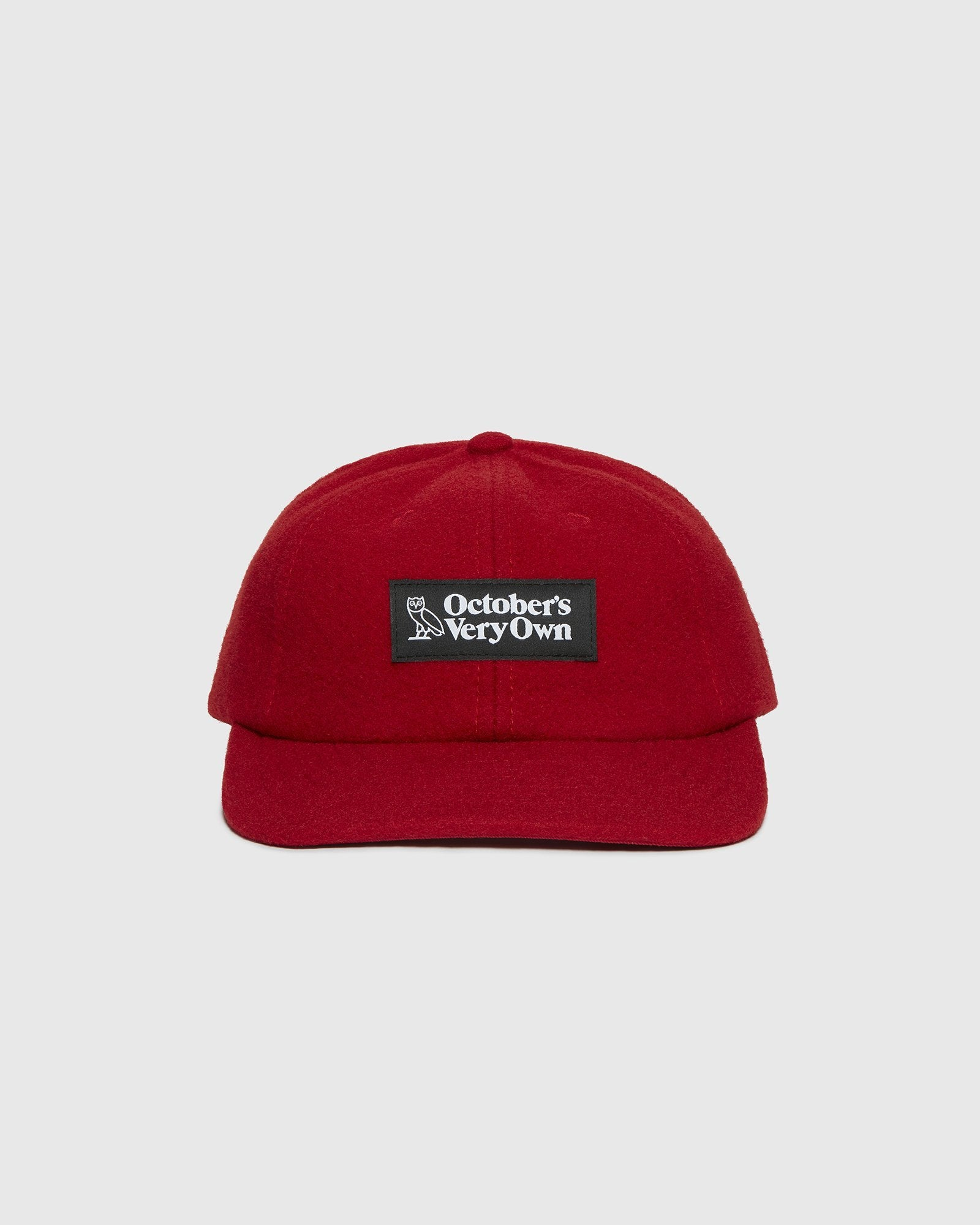 OVO WOOL SPORTCAP - RED IMAGE #1