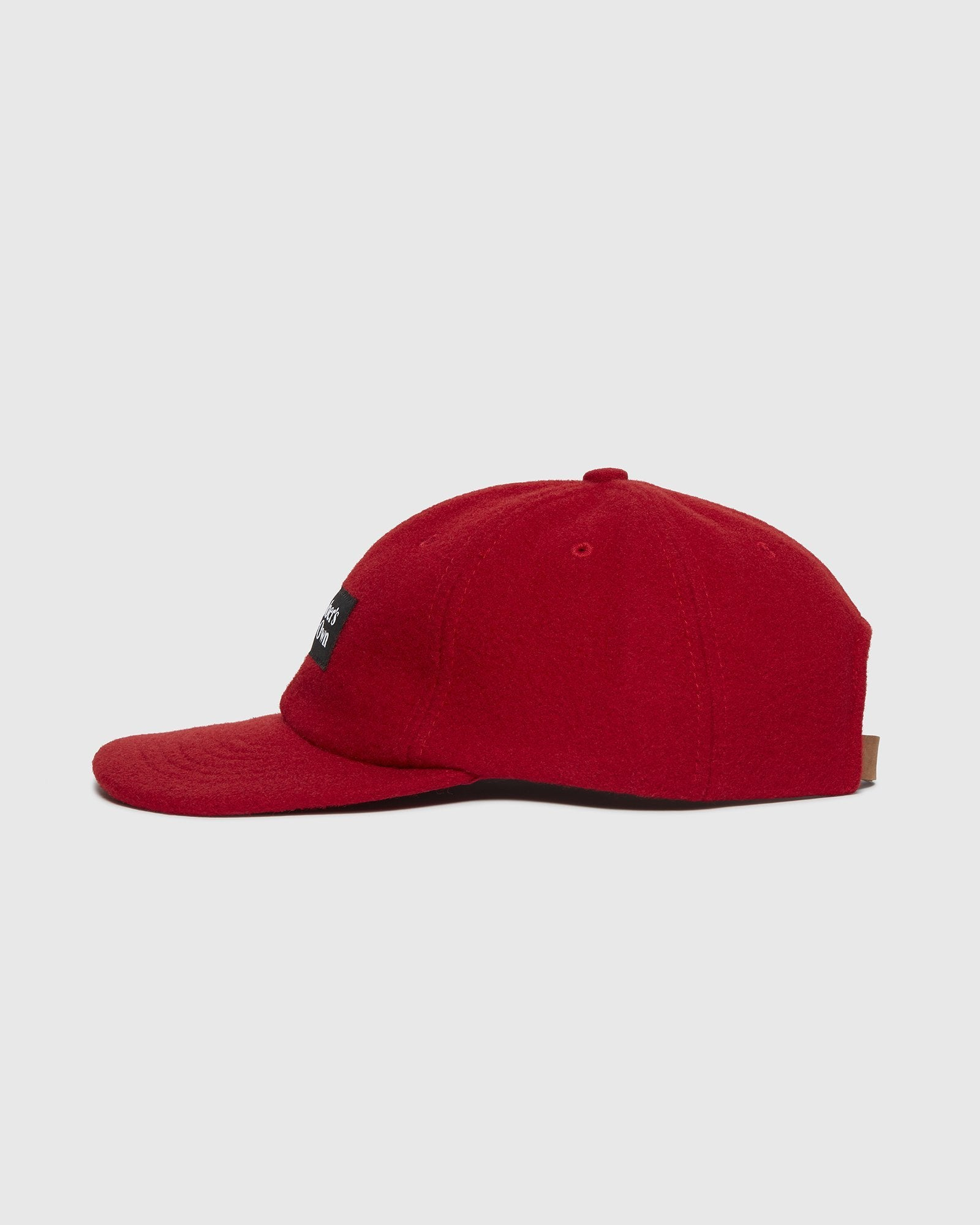 OVO WOOL SPORTCAP - RED IMAGE #2