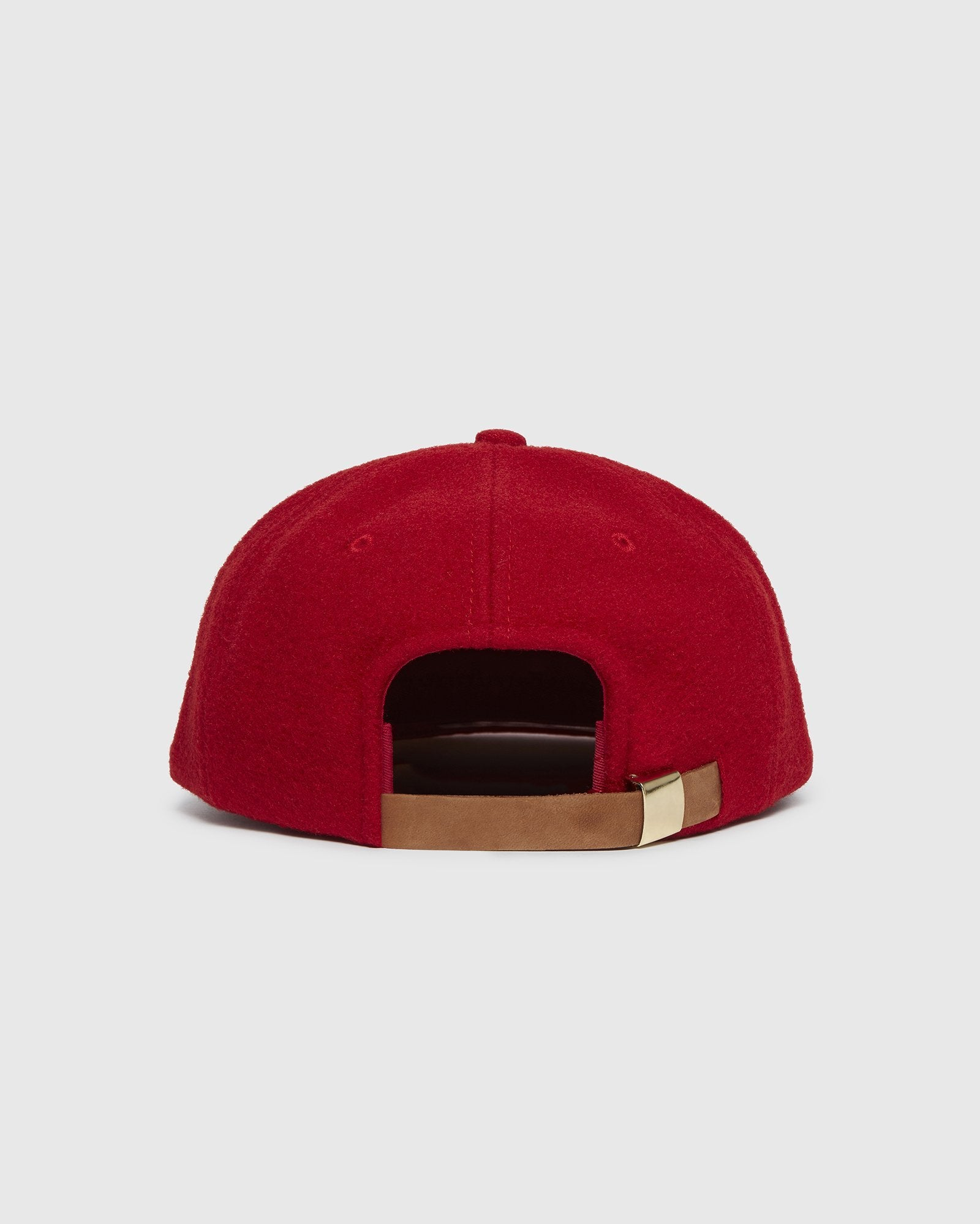 OVO WOOL SPORTCAP - RED IMAGE #3