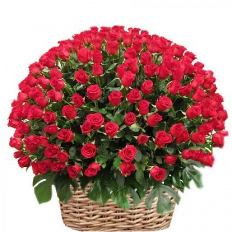 """All My Love"" Basket of Roses"