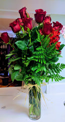 12 long stems Roses