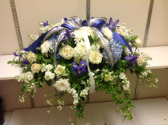 Casket Spray (Dallas Cowboy color )
