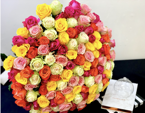 100  Rose Bouquet
