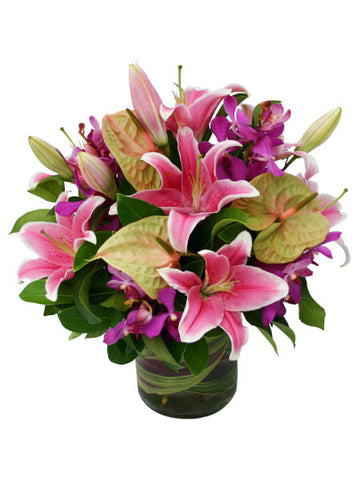 Refinement Orchids and Lilies