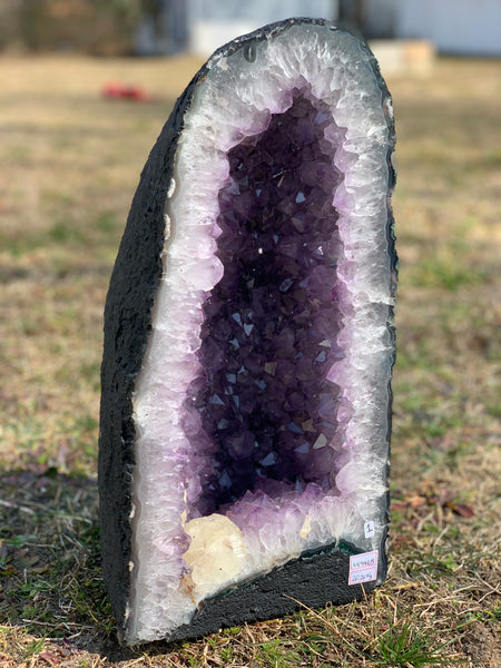 Uruguayan Amethyst Calcite Cathedral