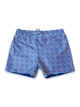 Load image into Gallery viewer, AugustSocietyEchoKids Swim Trunks-Pineapple-Three-Front