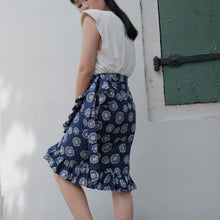 Load image into Gallery viewer, Batik Wrap Skirt
