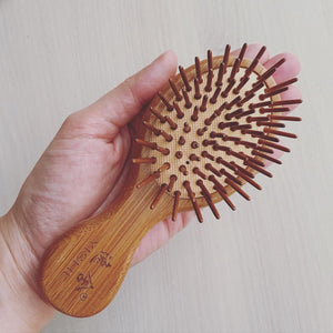 Bamboo Massage Comb Mini