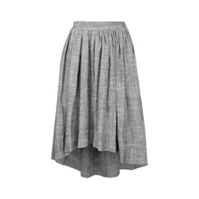Load image into Gallery viewer, The High-Low Skirt Linen