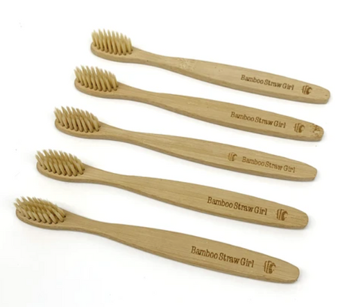 Bamboo Toothbrush (Pack of 5)