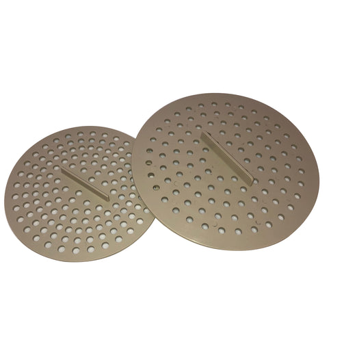 Composter strainer