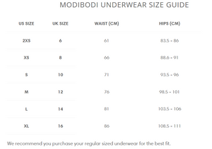 Modibodi Period Panties Classic Bikini - Heavy Absorbency