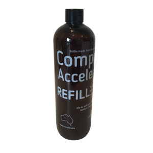 Composter accelerator refill