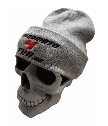 Snap Back - Beanie SUPERMOTO4FUN Grau