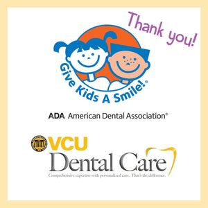 Give Kids A Smile Event at VCU Dental School