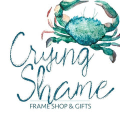 Crying Shame Frame and Gift Shop Logo