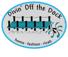 Divin' Off The Dock Logo