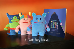 The Tooth Brigade 8 inch tooth pillows ultimate combo