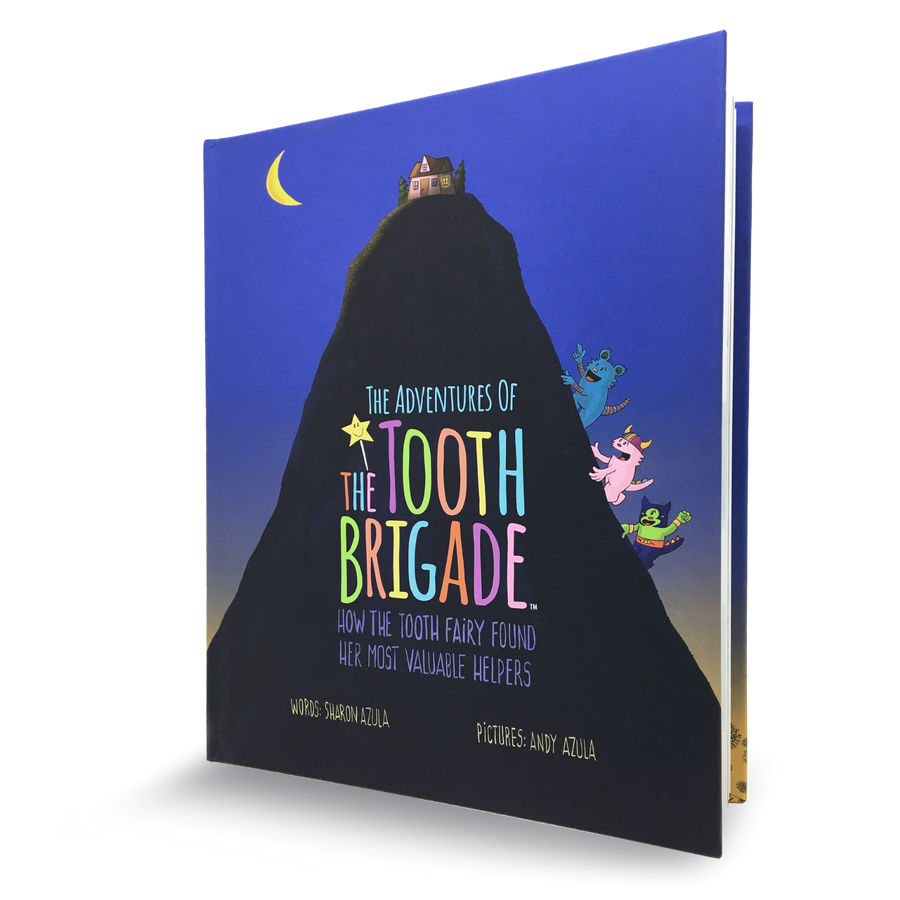 The Adventures of The Tooth Brigade Hardcover Book