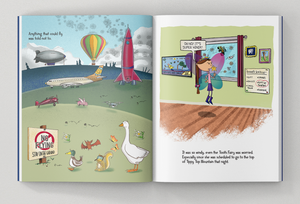 tooth brigade book sneak peek page - no flying