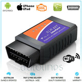 ELM327 Car WiFi OBD2 Scan Tool Engine OBD Code Reader For iPhone iPad & Android