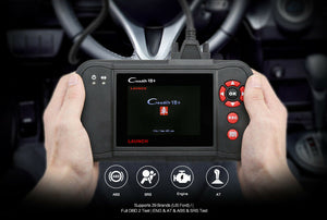 Launch Creader VII+ OBD2 Car Diagnostic Scanner Engine SRS ABS Transmission