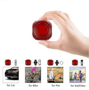 4G T80 Mini GPS TRACKER Bike Pet Waterproof IPX7 Anti-Theft Vehicle Car Kids Bag