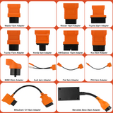FOXWELL / AUTEL / LAUNCH OBD1 TO OBD2 OBDII Cable Adapter Kit Connector Set